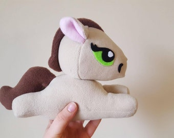 Plush horse, plush pony, kawaii, unique gift idea, stuffed animal, plush toy, pony, horse, Cute, novelty