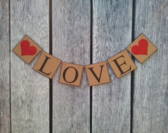 wedding banner, wedding decorations, wedding love banner, love banner, valentines sign, be my valentine, wedding decor, wedding backdrop