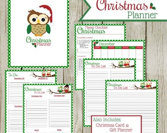 Christmas Planner: Instant Download