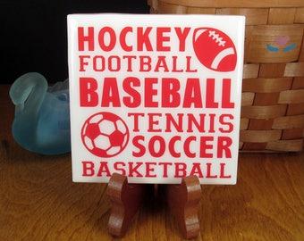 Sports Handmade Coasters