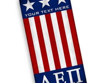 Alpha Epsilon Pi USA Flag Towel
