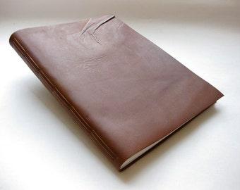 """Leather Journal Sketchbook  9x12"""" Sketchbook"""