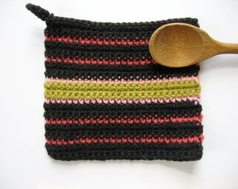 small cotton pot holder