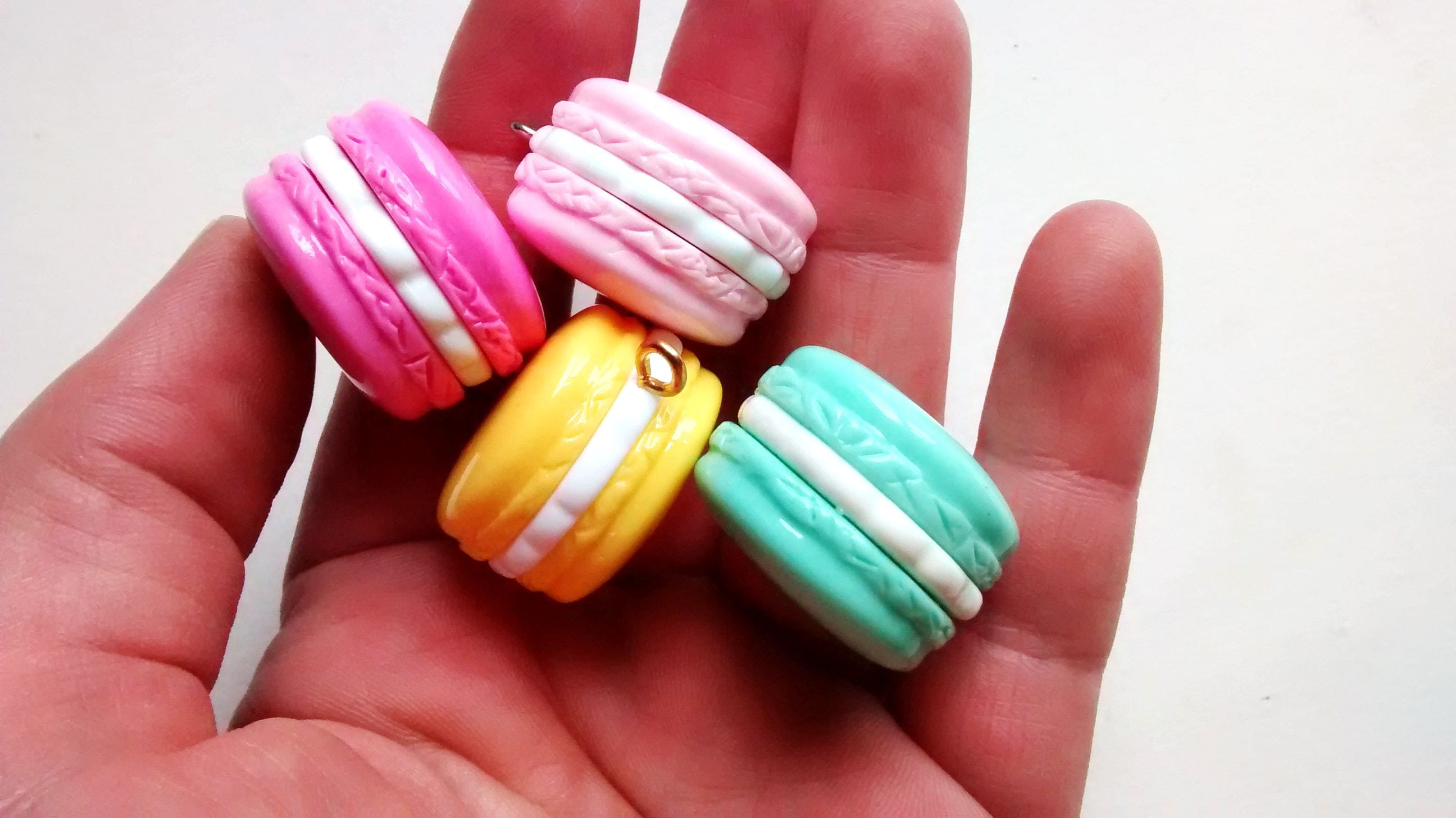 1 4 pc 39 s kawaii macaroon candy charms nep snoep eten for Decoratie nep snoep
