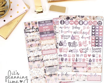 Like A Boss 2 Page Planner Sticker Kit