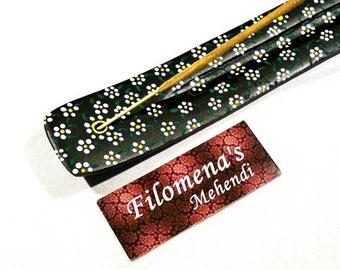Marigold, Incense Holder, Marigold flower, Incense burner, Romantic art, Hippie decor, Tabletop decor, Bohemian decoration, Small flowers