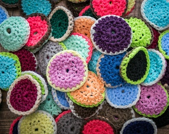Pot Scrubbies   Eco-Friendly way to scrub dishes   Washable and Reusable