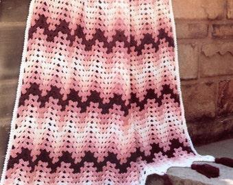 So Easy! Chevron Crochet Blanket Pattern