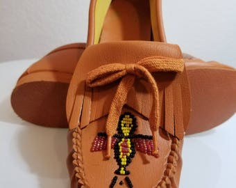 FREE  SHIPPING    Vintage Deadstock  Moccasins