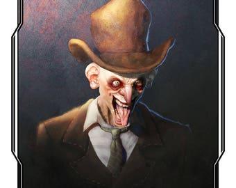 Freak poster [Illustration | 3D]