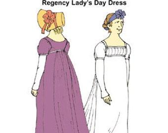 Regency Morning Dress Pattern