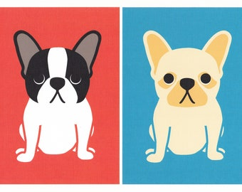 French Bulldog Giclee Print