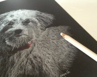 Custom Greeting Cards featuring your own pets