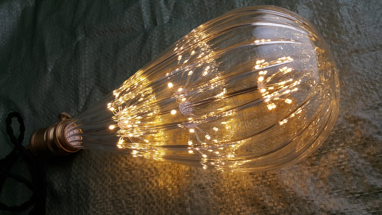 super gro e ballon stil feuerwerk led gl hbirne edison lampe. Black Bedroom Furniture Sets. Home Design Ideas