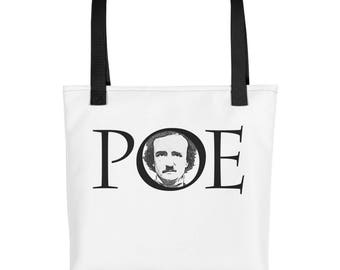 Edgar Allan Poe Tote bag Author of The Raven Master of Mystery and the Macabre
