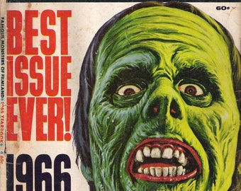 Famous Monsters of Filmland 1966 Yearbook