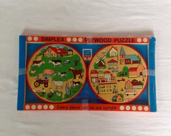 2 Simplex Wood Puzzles in Original Box