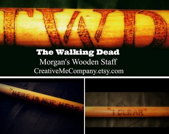 The Walking Dead / Father's Day / Morgan / Staff / Fear the Walking Dead / Morgan's Bo / Morgan's Bo Stick / Morgan  / TWD Collectible