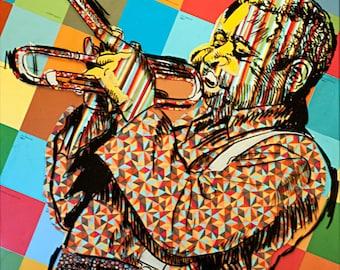 Dizzy Gillespie - print