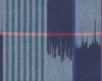 Plenty - Wave - From the Loominous Collection by Anna Maria Horner - Free Spirit Fabric - Woven Apparel Fabric by the Yard