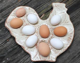 Chicken Deviled Egg Tray, MADE PER ORDER