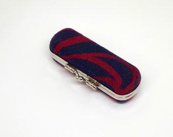 Case - babywearing woven wrap - box, hard case - Dahlia, Jardin d'aquarelle