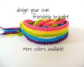 5 Custom Friendship Bracelets