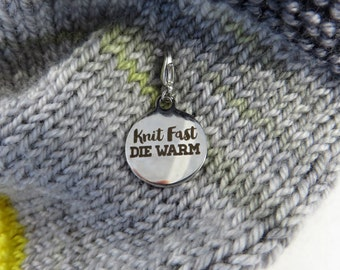 Bulky Knitting Stitch Marker | Knitting Progress Marker | Crochet Stitch Marker | Removable Stitch Marker | Knit Fast Die Warm