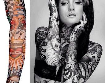 Temporary Tattoo Sleeve Nylon