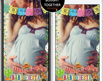 LIMITED TIME! Happy Birthday Geofilter Fiesta Baby shower Snapchat first birthday filter Mexican snap,Cinco De Mayo geofilter,Baptism #WBs09