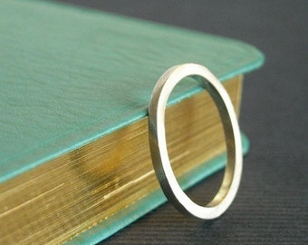 All Squared Up Sterling Stacking Ring-Free Shipping