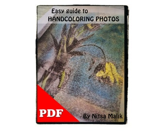 Easy Guide to painting Photos  : PDF Tutorial INSTANT  DOWNLOAD - Great Gift for Photographer & Artist