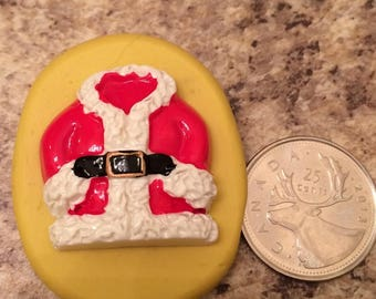 Santa Suit Jacket Mold silicone