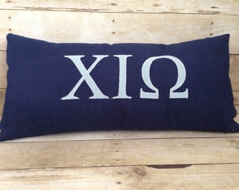 Customized Sorority Pillow, Sorority Gift, Sorority Room Decor,Dorm Pillow,Dorm Decor