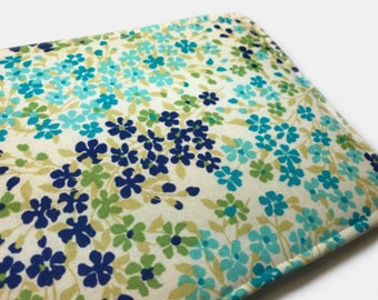 Blue Green Floral kindle fire hd 8 case stand kindle fire hd 8 case kindle fire HD 8 case stand kindle fire HD 8 case