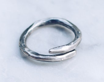 Deep Water Ring   925 Sterling Silver