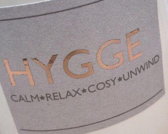 Scented Serenity Candle Hygge