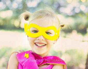 Fast Shipping - Childrens SUPER HERO MASK -Best selling Super Hero Party Favor - Birthday party favor, affordable, available in 13 colors