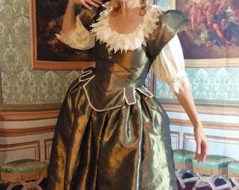 Old Gold Restoration gown