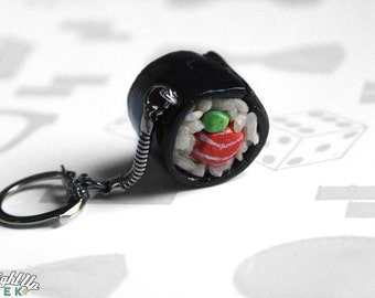 Sushi Keychain Food Sushi Roll Maki