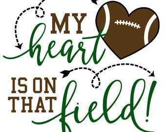 My heart is on that field svg file