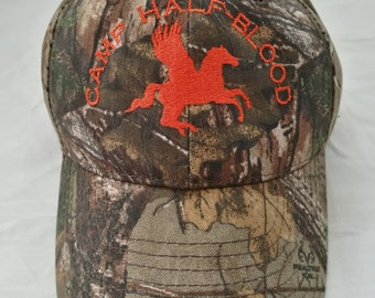 Camp Half-Blood Camouflage Hat -LIMITED
