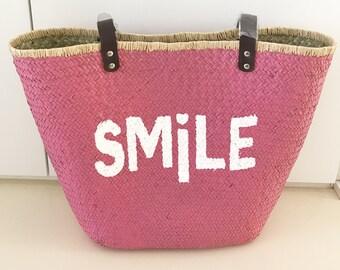 Basket Bag Smile Ibizatasche