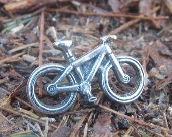 Bicycle Lapel Pin - CC428- Bike, Byclist, Cycle, Pedal Bike, Recreation Pins