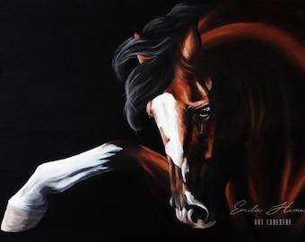 "Realistic Painting ""Dancing Boy"" 90x70"