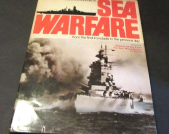 The Encyclopedia of Sea Warfare from the First Ironclads to the Present Day  Vintage book by Ian Parsons 1975