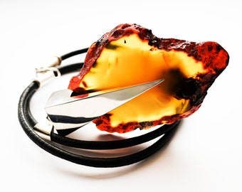 Natural Baltic Amber Necklace, 86 g
