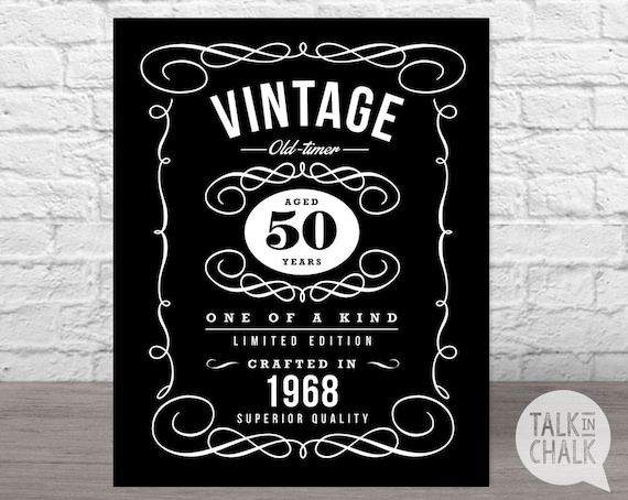 picture relating to 40th Birthday Signs Printable known as 50th birthday indicators printable -