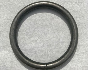 "2"" Antique Nickel Patina Ring"