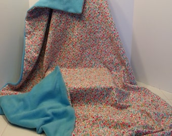 "40x60 Weighted Sensory Blanket for toddler or teen , custom made in Canada, machine washable, reversible, non toxic, Facebook:  ""Nancy Sews"""